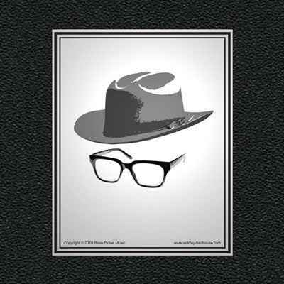 Holt Hat and Glasses Sticker