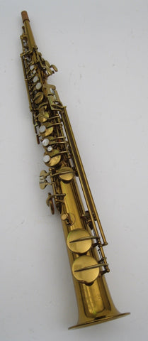 Conn New Wonder Soprano Saxophone (1925)