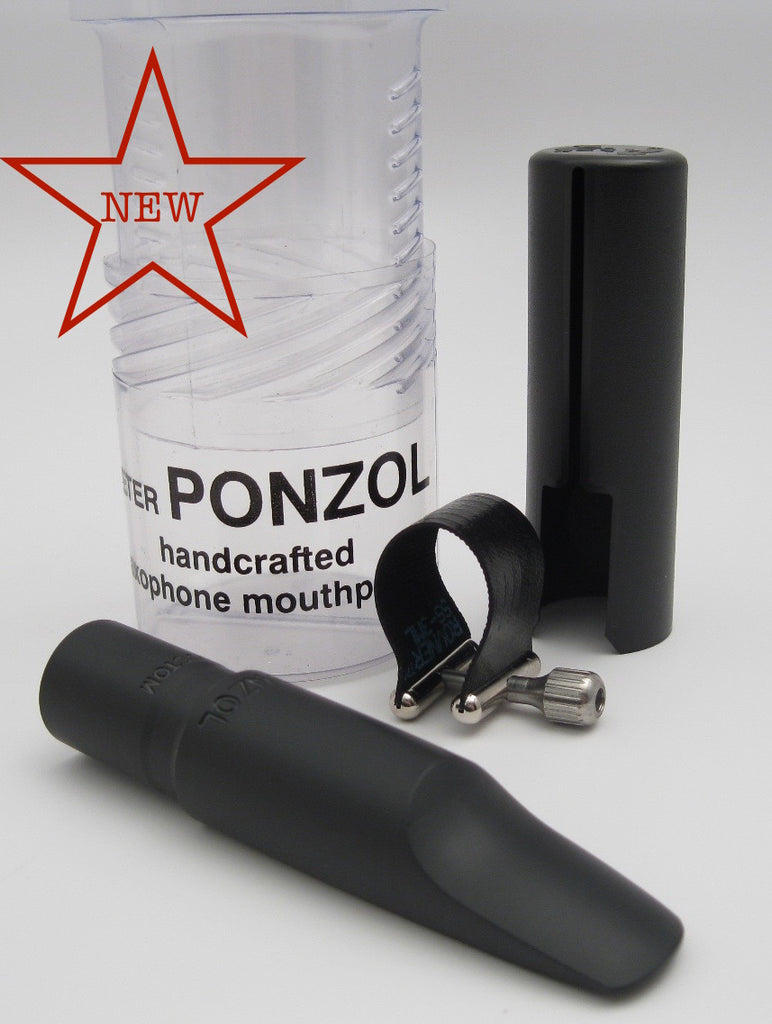 Ponzol Custom (.105) Tenor Saxophone Mouthpiece