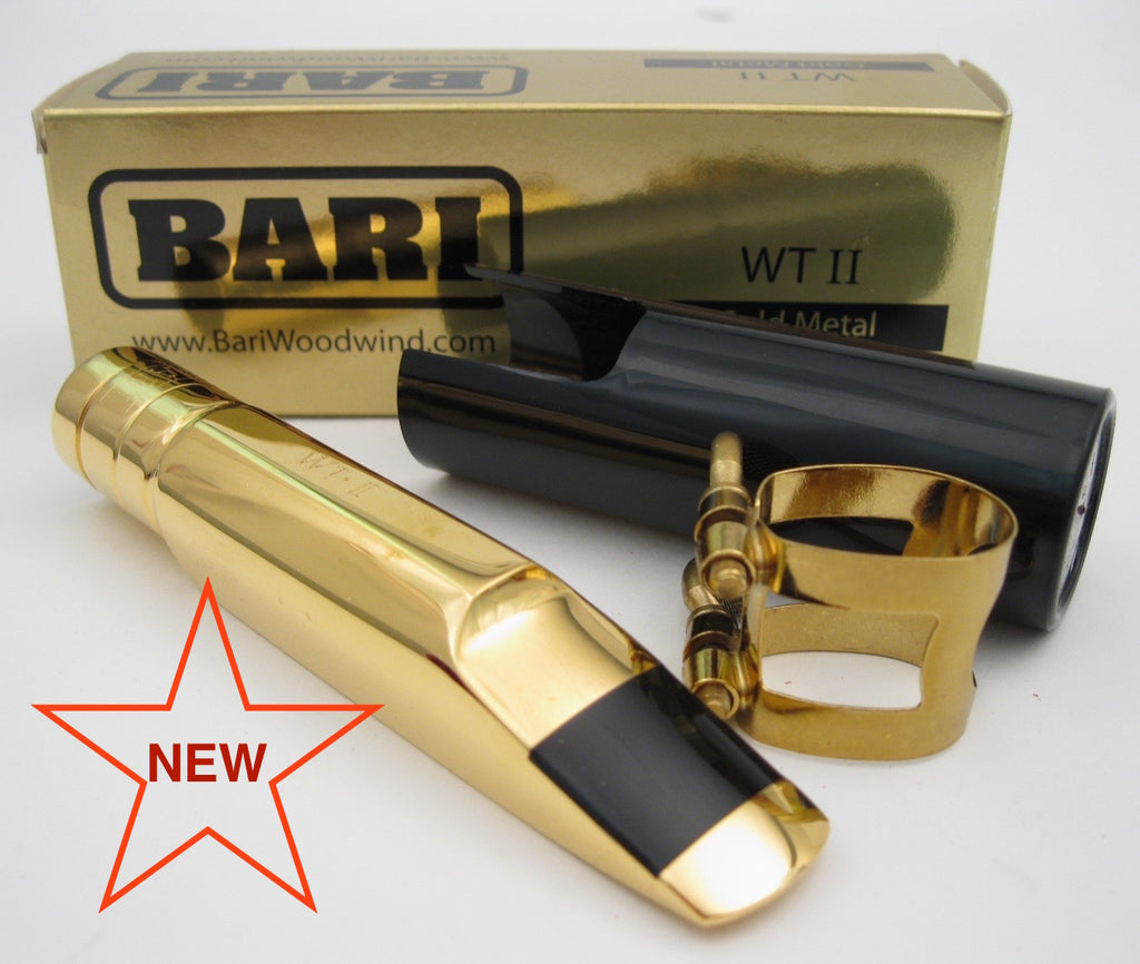 Bari WTII 8 (.110) Tenor Saxophone Mouthpiece (NEW)