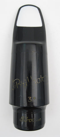 Brilhart Ebolin Great Neck 3* (.085) Tenor Saxophone Mouthpiece