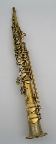Conn New Wonder II Gold Plate Soprano Saxophone