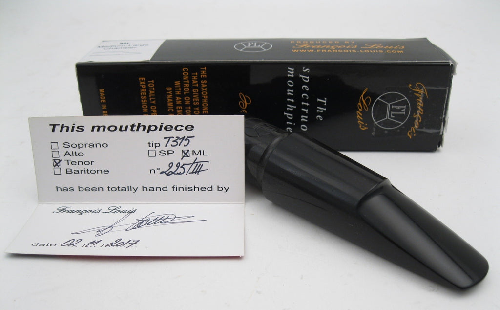 Francois Louis Spectruoso T315ML (.120) Signature Model Tenor Saxophone Mouthpiece