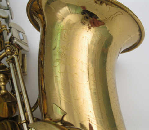 King Super 20 Alto Saxphone - Junkdude.com  - 3
