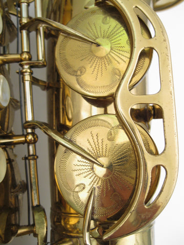 King Super 20 Alto Saxphone - Junkdude.com  - 5