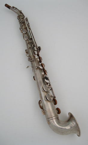 King H.N. White Saxello Soprano Saxphone