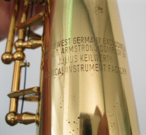 Keilwerth Armstrong Heritage Soprano Saxophone - Junkdude.com  - 15