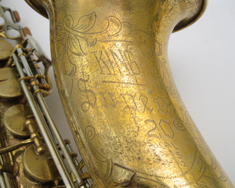 King Super 20 Tenor Saxophone - Junkdude.com  - 2