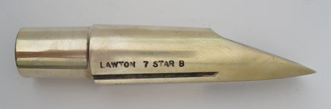 Lawton 7 Star B (.110) Tenor Saxophone Mouthpiece