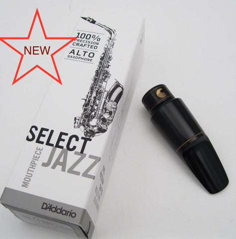 D'Addario Select Jazz D6M (.078) Alto Saxophone Mouthpiece. (New)