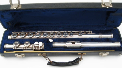 Armstrong Model 80 Sterling Silver Flute - Junkdude.com  - 3