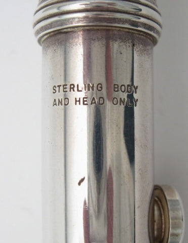 Armstrong Model 80 Sterling Silver Flute - Junkdude.com  - 12