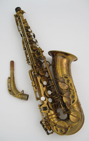 Selmer Custom Super Balanced Action / Transitional Alto Saxophone - Junkdude.com  - 1