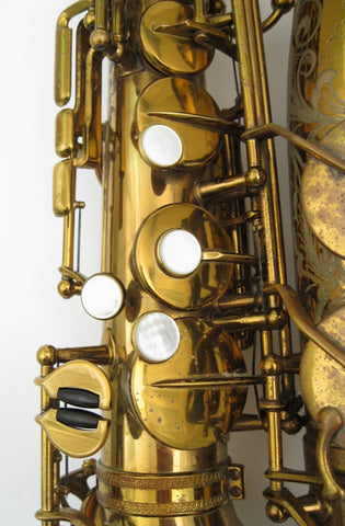 Selmer Custom Super Balanced Action / Transitional Alto Saxophone - Junkdude.com  - 10