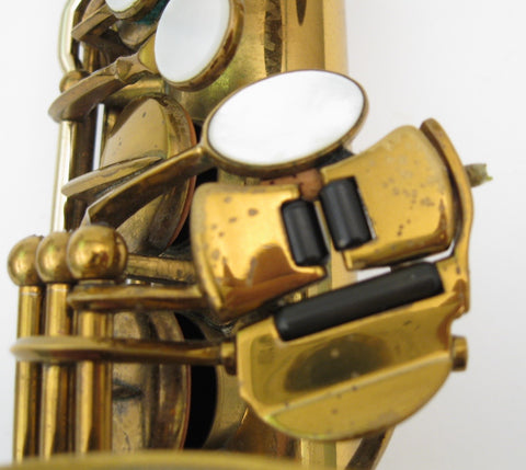 Selmer Custom Super Balanced Action / Transitional Alto Saxophone - Junkdude.com  - 14