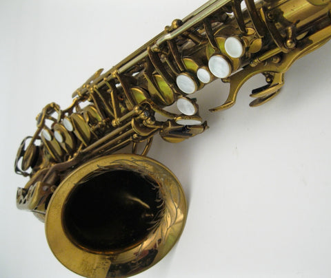 Selmer Custom Super Balanced Action / Transitional Alto Saxophone - Junkdude.com  - 20