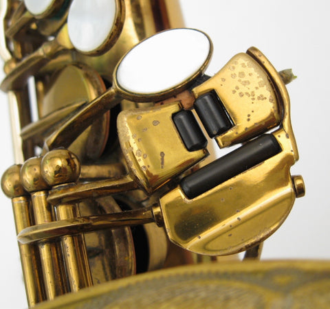 Selmer Custom Super Balanced Action / Transitional Alto Saxophone - Junkdude.com  - 32