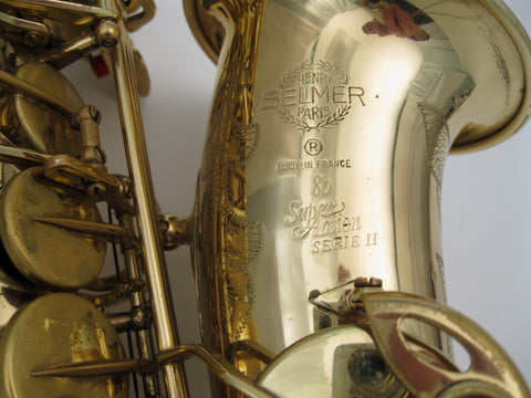 Selmer Super Action 80 Series II Alto Saxophone (Coming Soon) - Junkdude.com  - 2