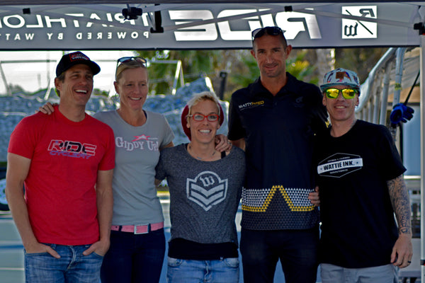 RIDE Triathlon Team, Matty Reed, Heather Jackson, Sean Wattie Watkins, Michellie Jones, Brent Garrigus
