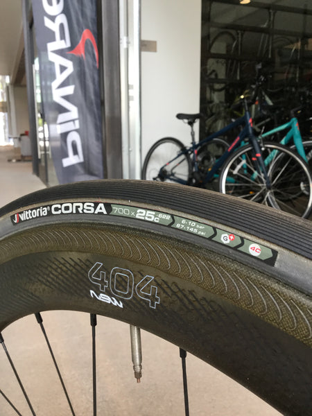 Vittoria Tires, Zipp Wheels