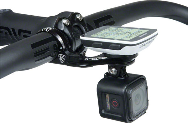 K-EDGE Garmin Combo Handlebar Mount, 31.8mm, Black