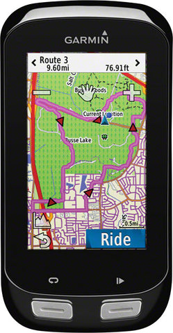 Garmin Edge 1000 GPS Computer: Black