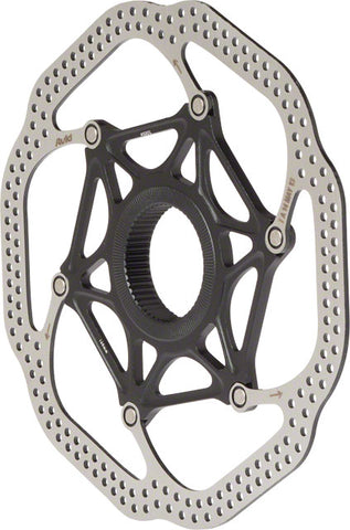 Avid Rotor HSX Heat-Shedding Center-Lock 160mm Black (No Lockring)