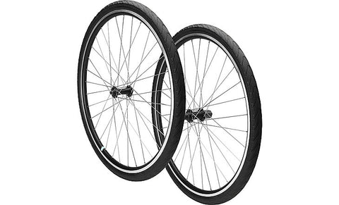 Airless-Tire Wheelset (No Flats Ever Again!)