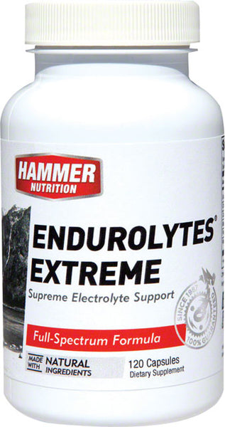 Hammer Endurolytes Extreme: Bottle of 120