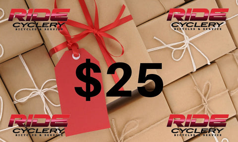 RIDEcyclery.com Gift Cards