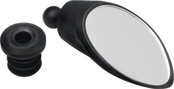 CycleAware Roadie Removable Bar-end Mirror: Black