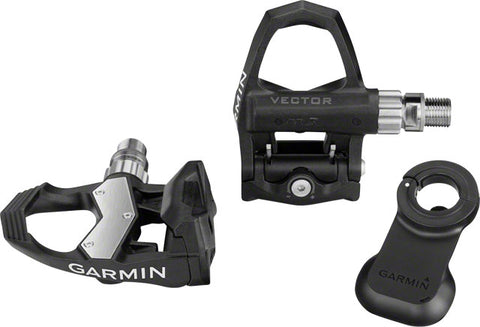 Garmin Vector 2S Power Meter Pedal Pair: Standard, Fits Cranks Up To 44mm Wide x 12-15mm Thick