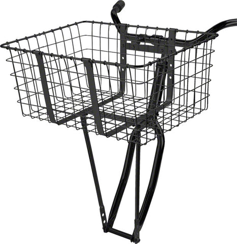Wald 157 Front Giant Delivery Basket: Black