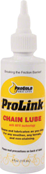 ProLink Chain Lube 4oz Squeeze Bottle