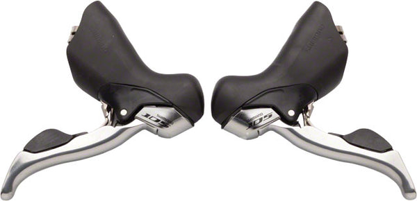 Shimano 105 5700 Double 10-Speed STI Lever Set Silver