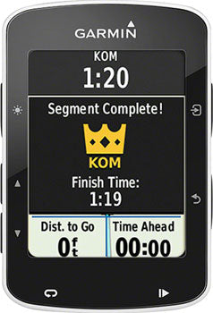 Garmin GPS Cycling Computer Edge 520 Bundle with Heart Rate and Cadence Monitor: Black