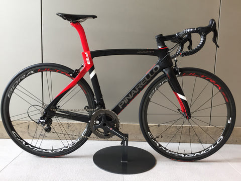 PINARELLO DOGMA F8 674 BLK/RED 56 SUPER RECORD BUILD