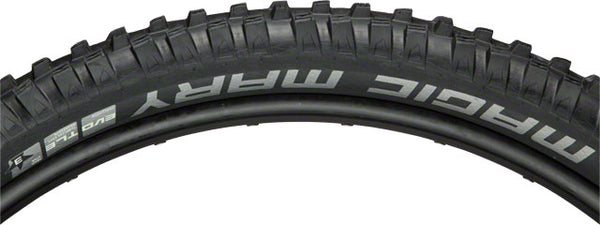 Schwalbe Magic Mary Tubeless Easy SnakeSkin Tire, 27.5x2.35 EVO Folding Bead Black with TrailStar Compound