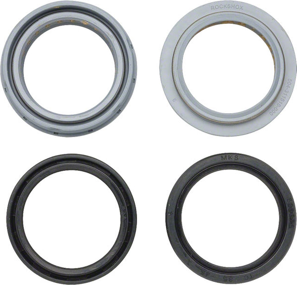 RockShox 35mm Domain / Lyrik Dust Seal / Oil Seal Kit
