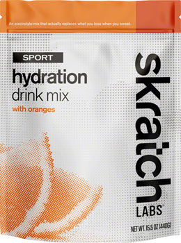 Skratch Labs Sport Hydration Drink Mix: Orange, 20-Serving Resealable Pouch