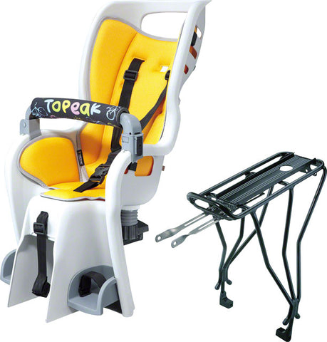 BABY SEAT TOPEAK BABY SITTER II (NEW) w/Rack - DISC & NON-DISC