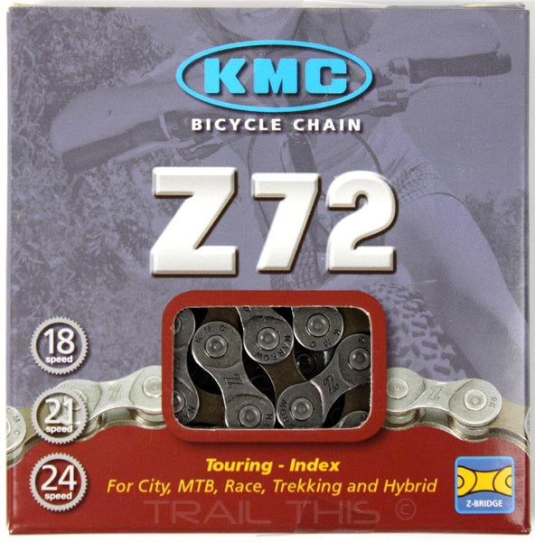 KMC Z-72 6,7,8 speed Gray/Brown Chain 7.1mm