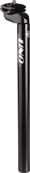 Kalloy Uno 602 Seatpost, 27.2 x 350mm, Black