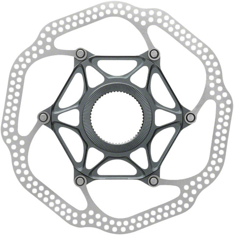 Avid Rotor HSX Heat-Shedding Center-Lock 160mm Gray (No Lockring)