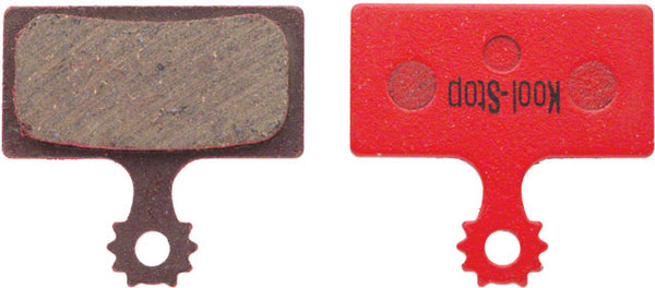 Kool-Stop Organic Disc Brake Pad for Shimano - G01A F01A replacement temporary
