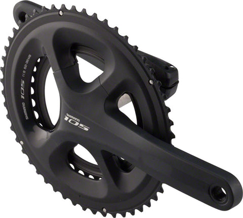 Shimano 105 5800 11-Speed 172.5mm 36/52t Crankset, Black, B.B. Not Included