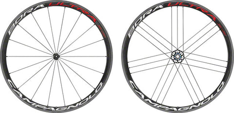 Campagnolo Bora Ultra 35, 700c Road Wheelset, Clincher, Bright Label