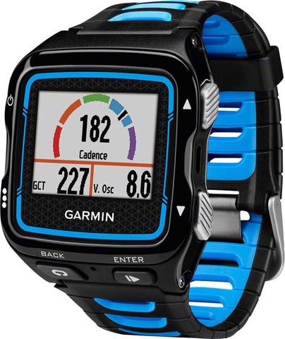 Garmin GPS Running Watch Forerunner 920XT With Heart Rate Monitor: Black and Blue