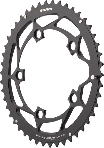 SRAM/Truvativ 46T 110mm Black Chainring use w/ 36t