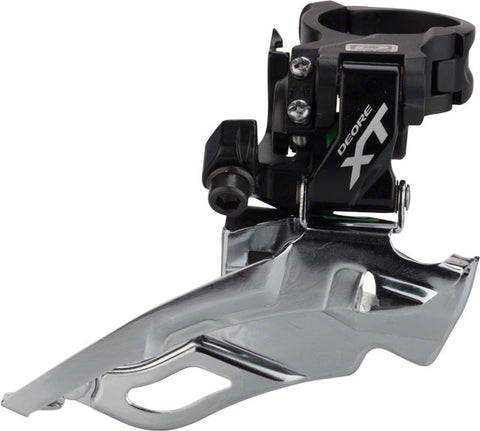 Shimano XT M781A 3x10-Speed Top-Swing, Down-Pull Front Derailleur